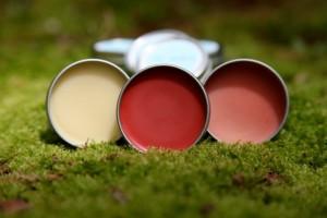 handmade lip balm