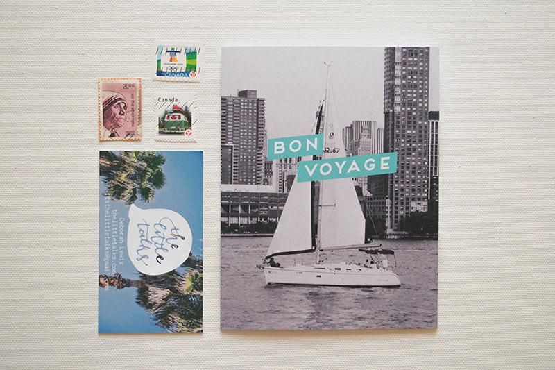 02 Bon Voyage (Good Trip) Photo Card