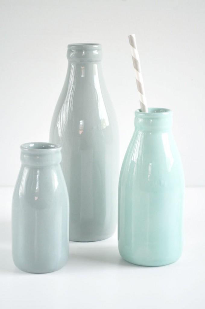 03 Large ceramic milk bottle