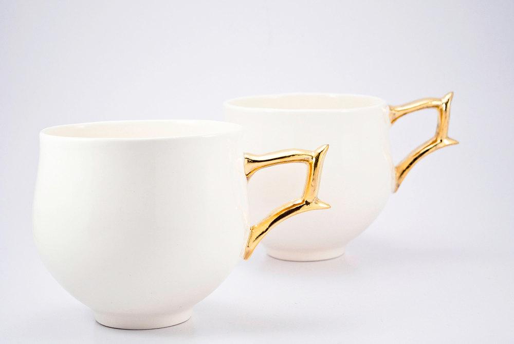 03 Porcelain Cups Set