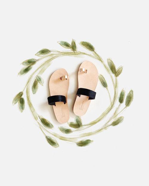 04 Persephone Greek sandals
