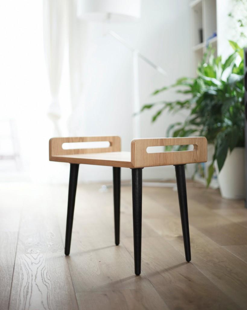 3 wooden Stool