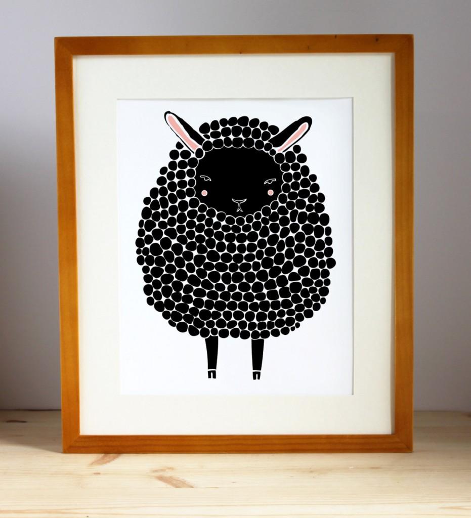 02 Black Sheep Illustration