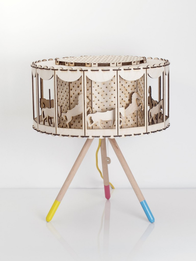 03 DIY Gift Idea Circus Lamp