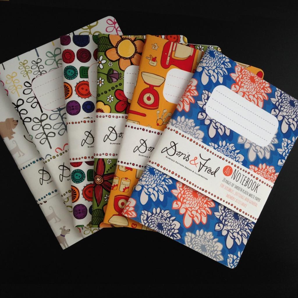 03 Set of 3 Handmade A6 Pocket Notebook