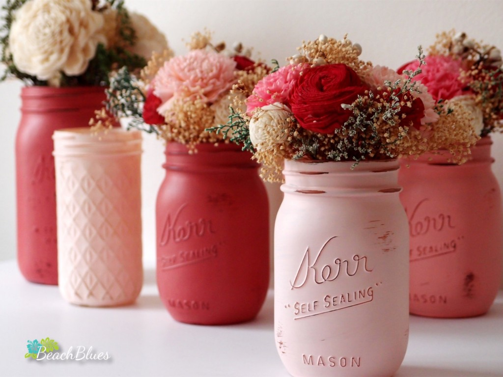 03 hand painted mason jars