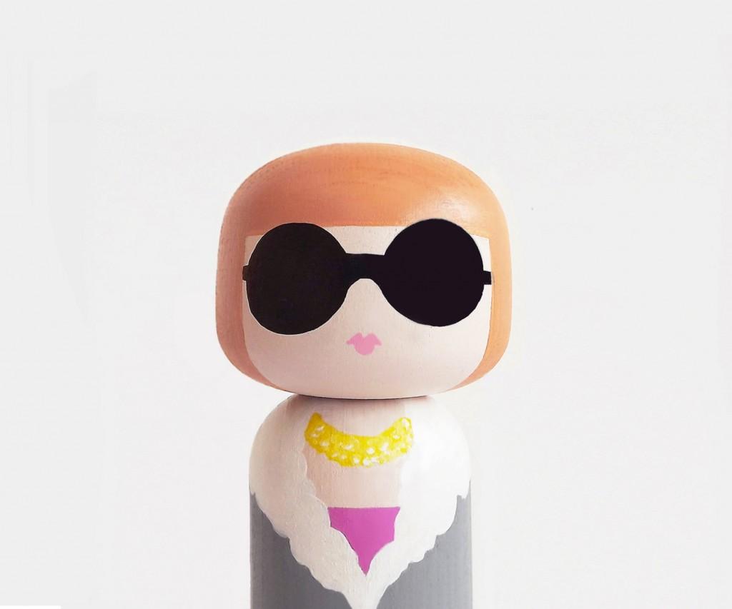 05 ANNA Kokeshi Doll