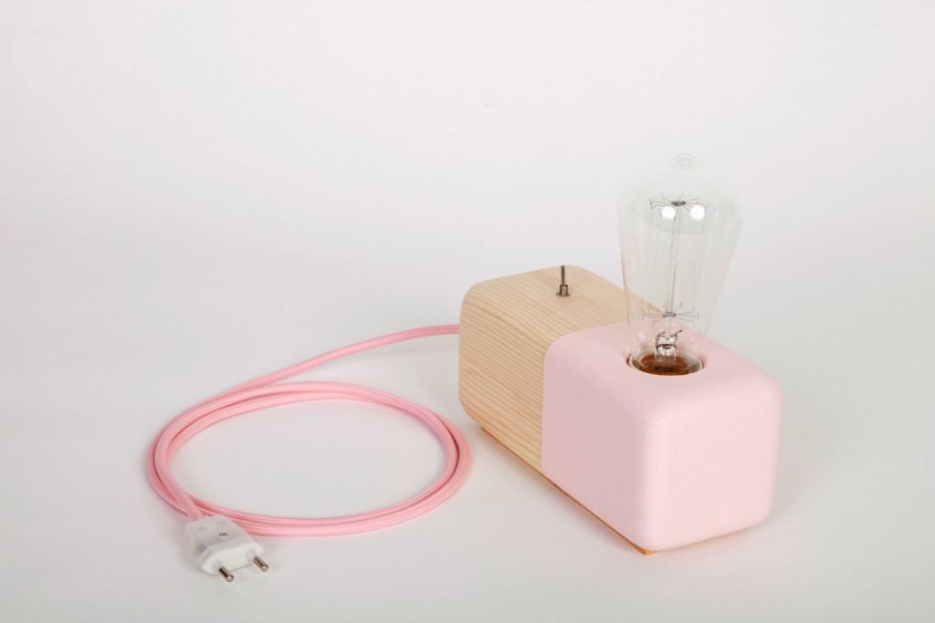 05 Wood Modern Handmade Table Lamp