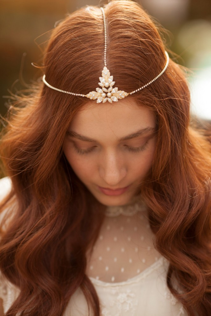 5 Boho Bridal Headband