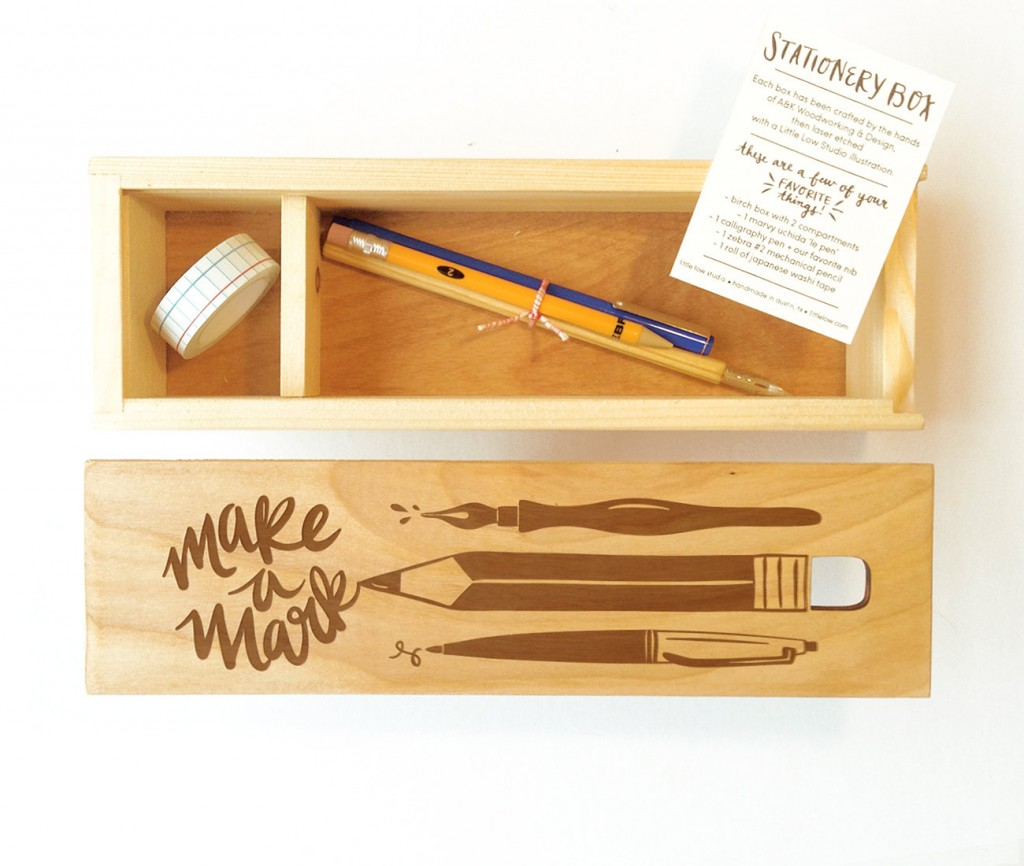 02 Make a Mark Stationery Box