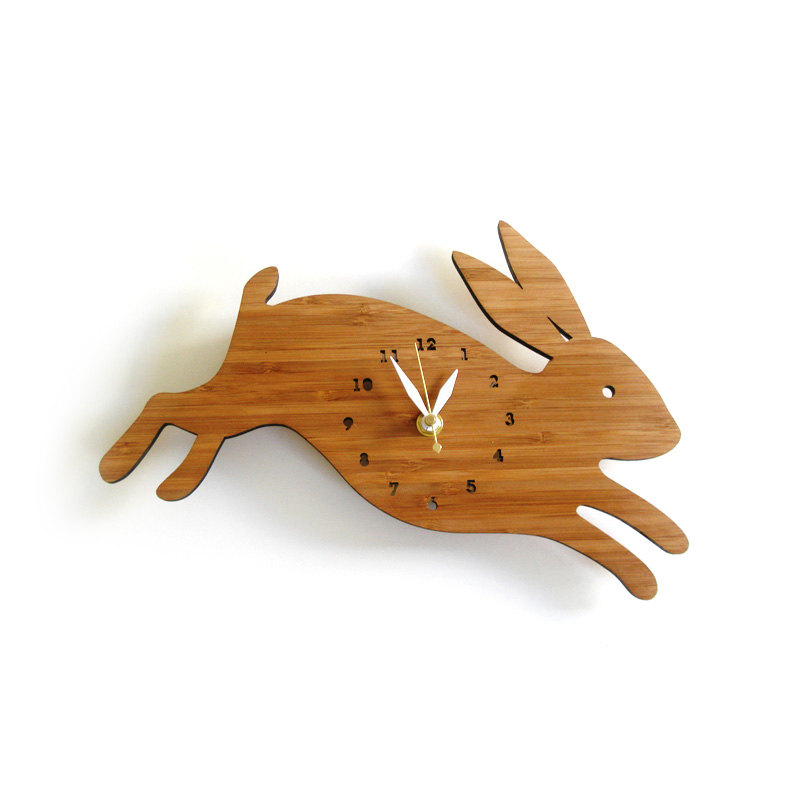 1 Rabbit wall clock