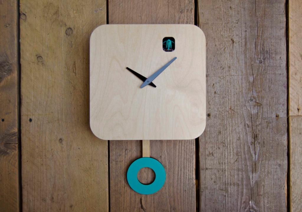 3 B83Box modern cuckoo clock