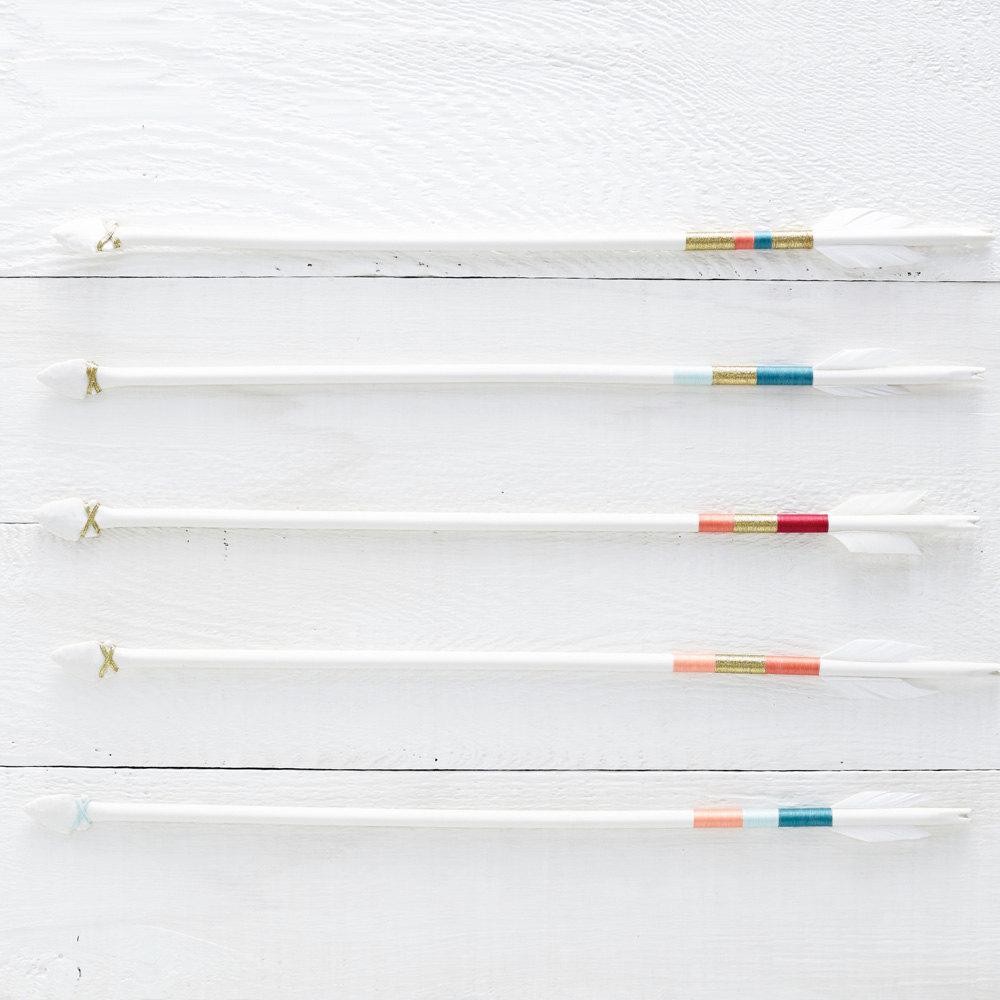 3 Porcelain Arrow Wall Hanging