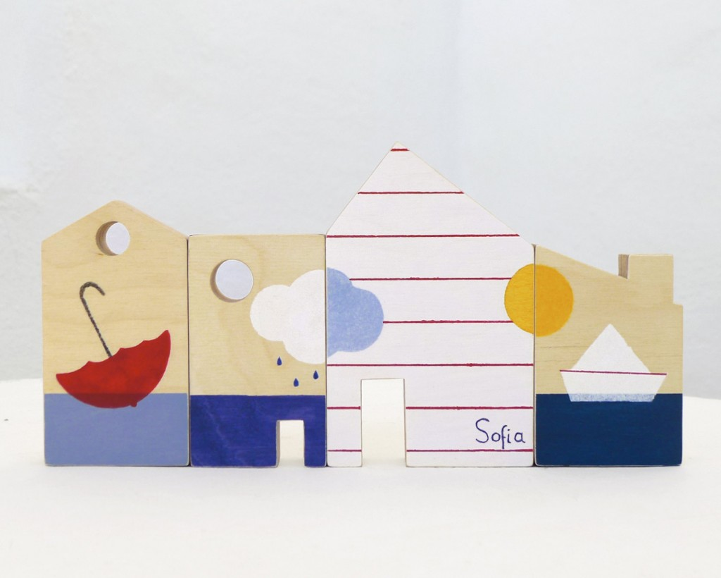 5 Personalized toy houses