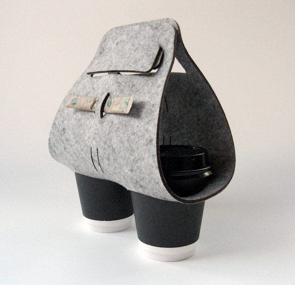 3 Objectify Tota Coffee Cup Carrier