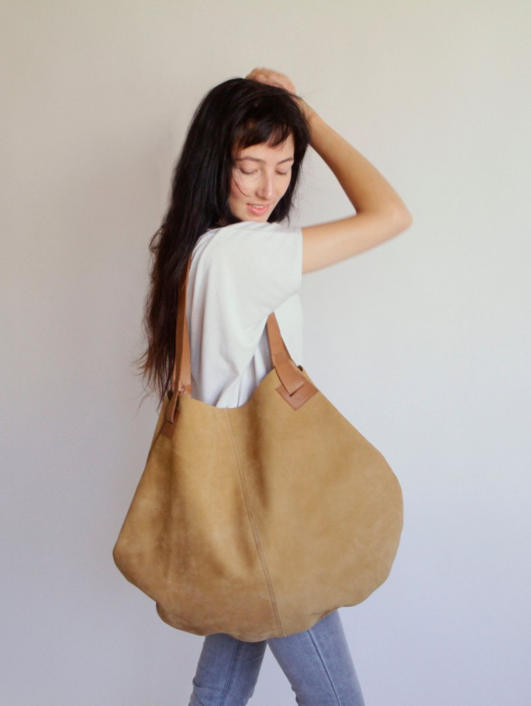 4 Mustard Leather Bag