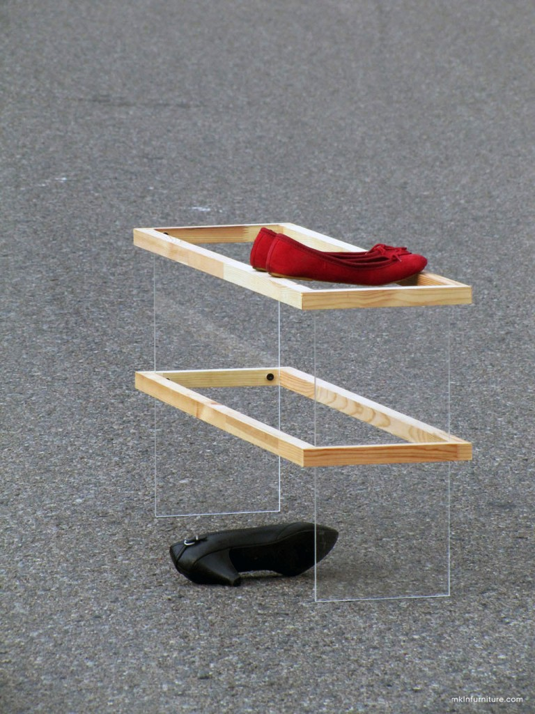 1 FLOAT shoe rack