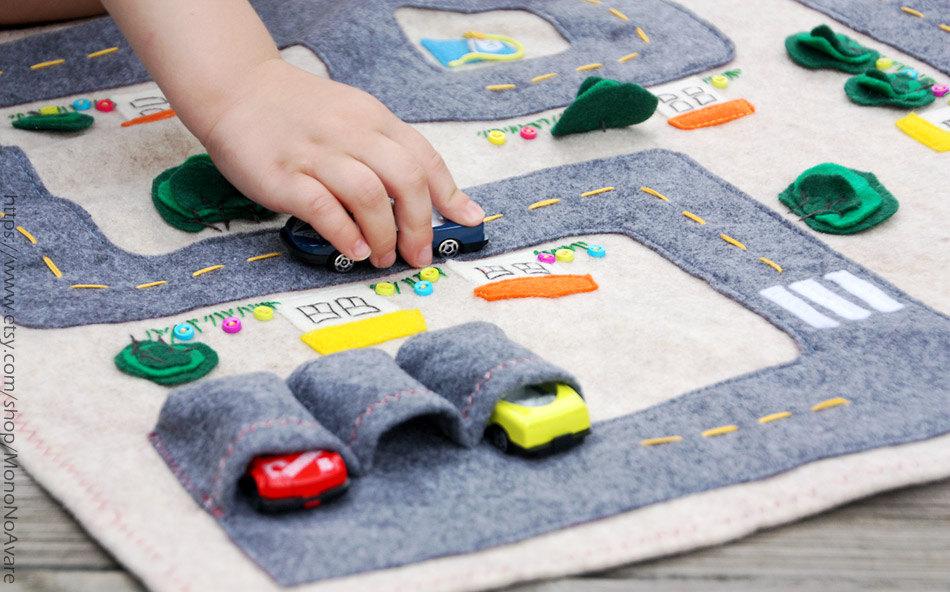 Игровой коврик для мальчика сшить