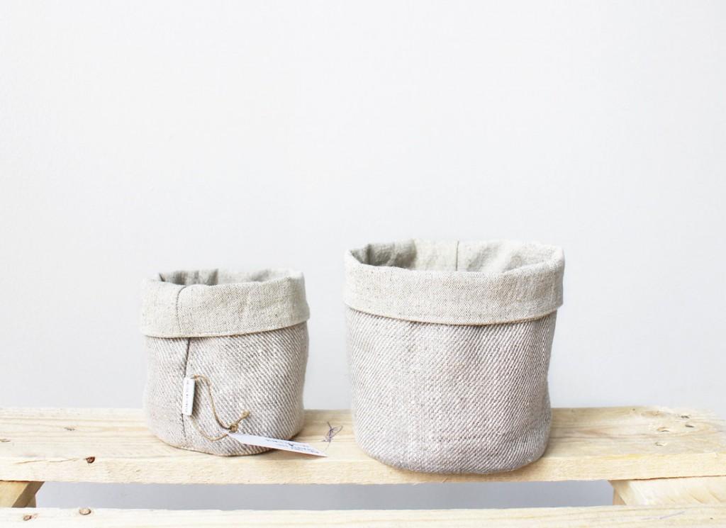 4 Linen Baskets