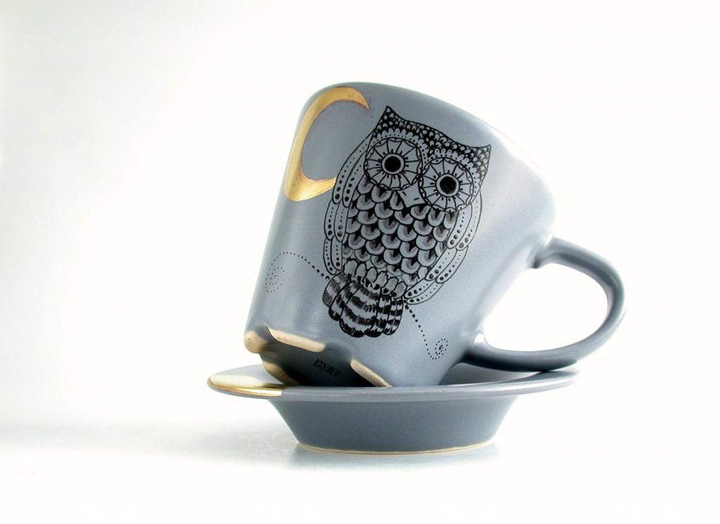 4 owl golden moon grey tea