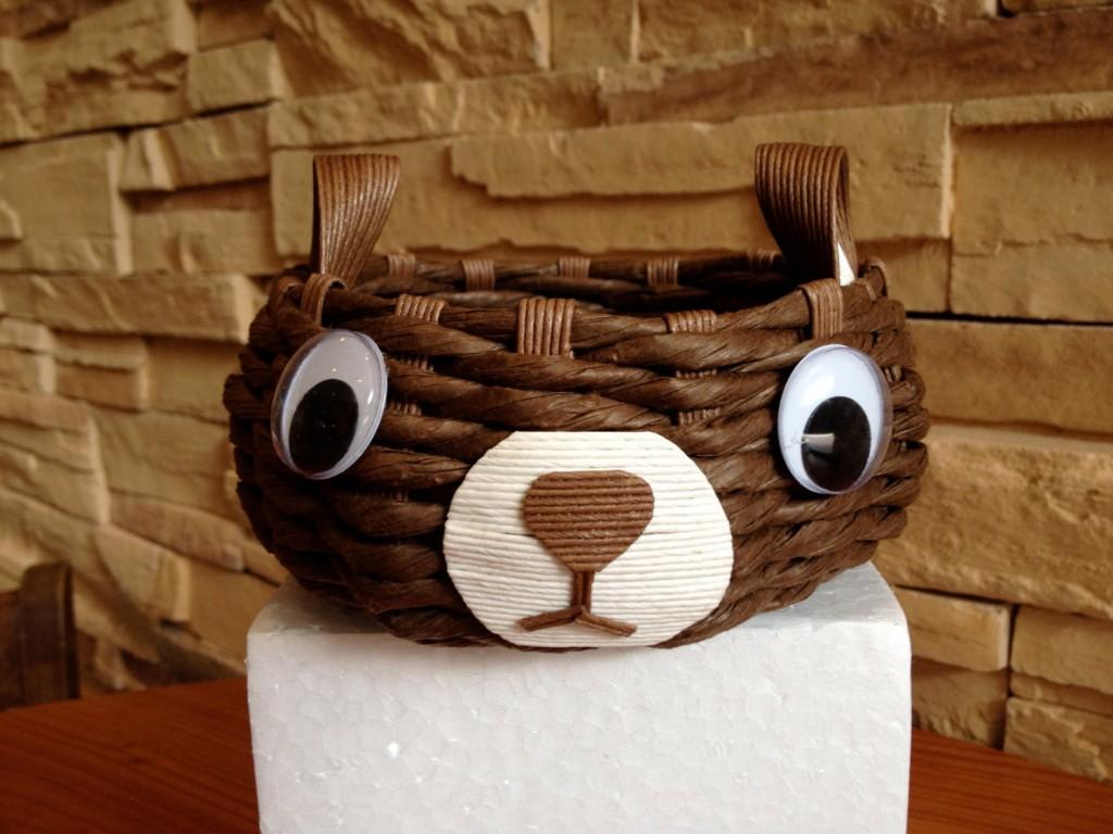 2 Bear basket