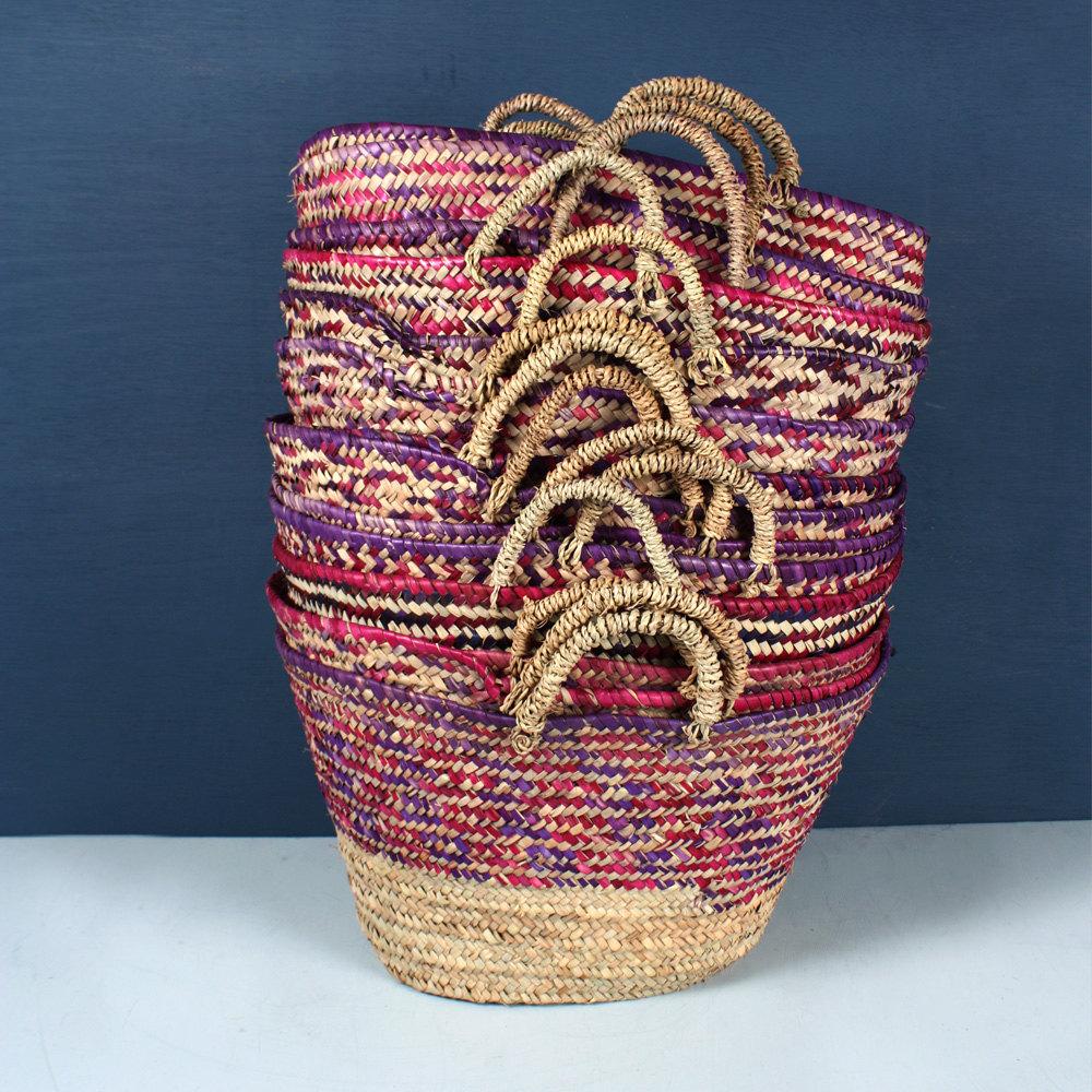 3 Colour Weave Basket