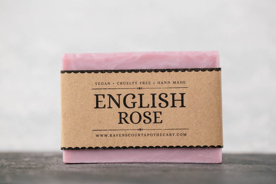 4 English Rose Soap