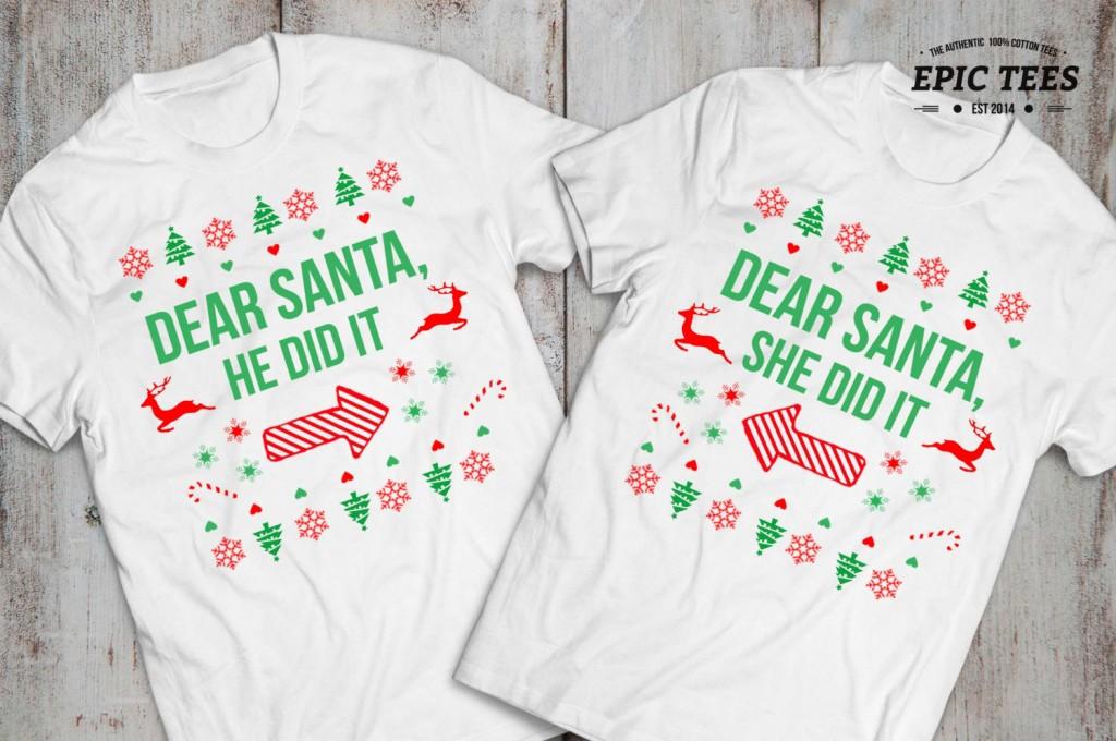 2 Kids Christmas shirt