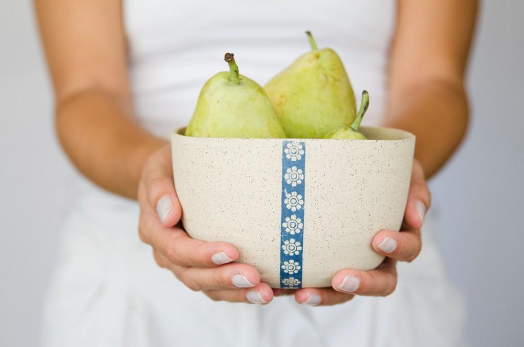 5 Ceramic white bowl