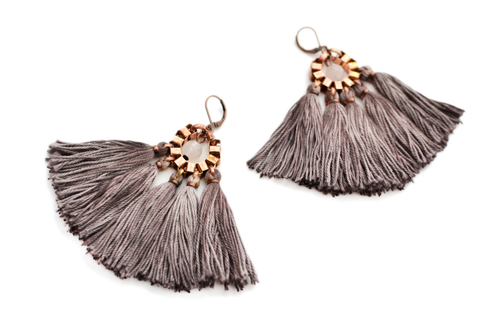 5 Tassel Earrings
