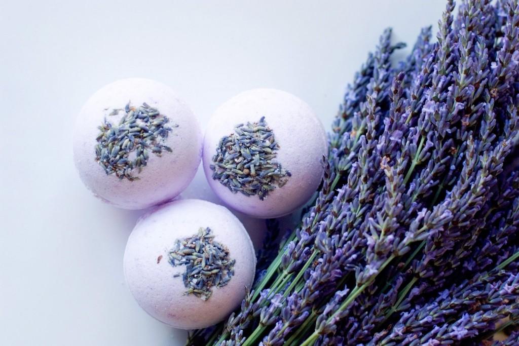 2 Lavender Bath Bomb