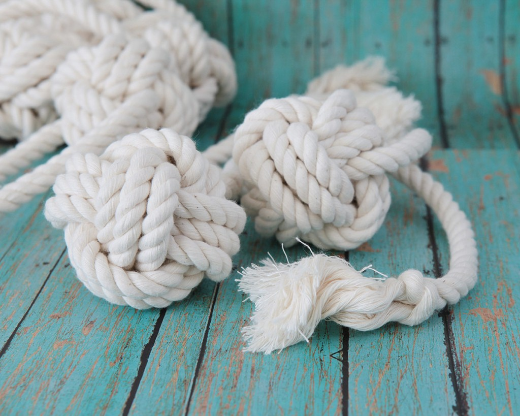 4 Knot Ball Rope Dog Toy