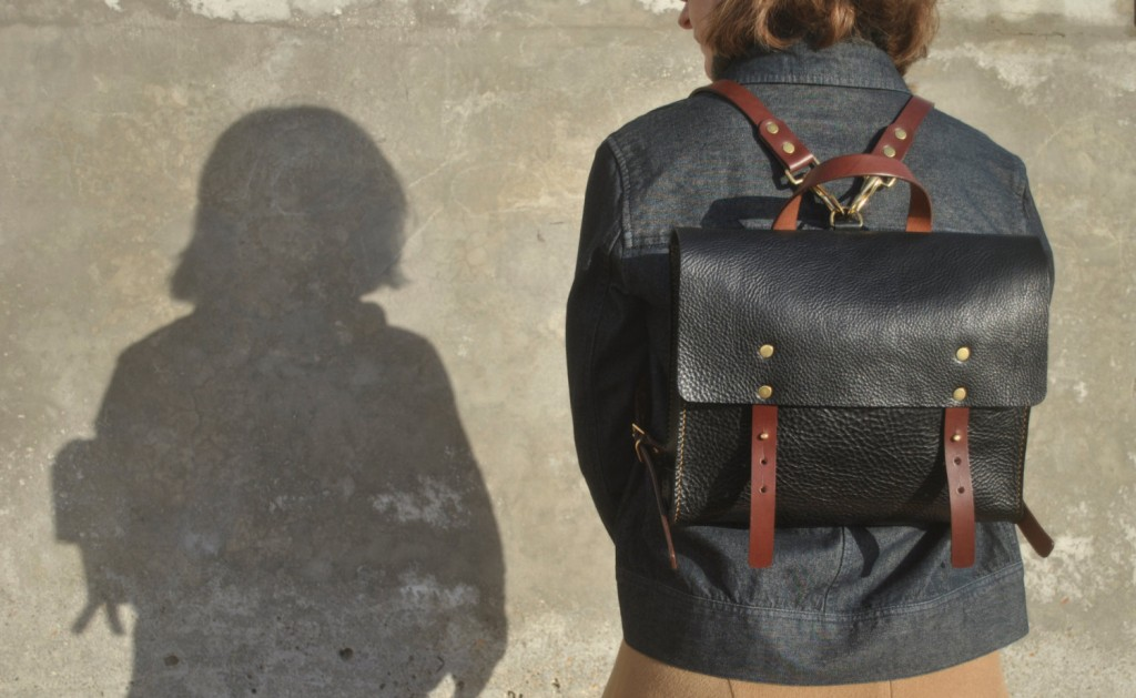 4 Leather Backpack