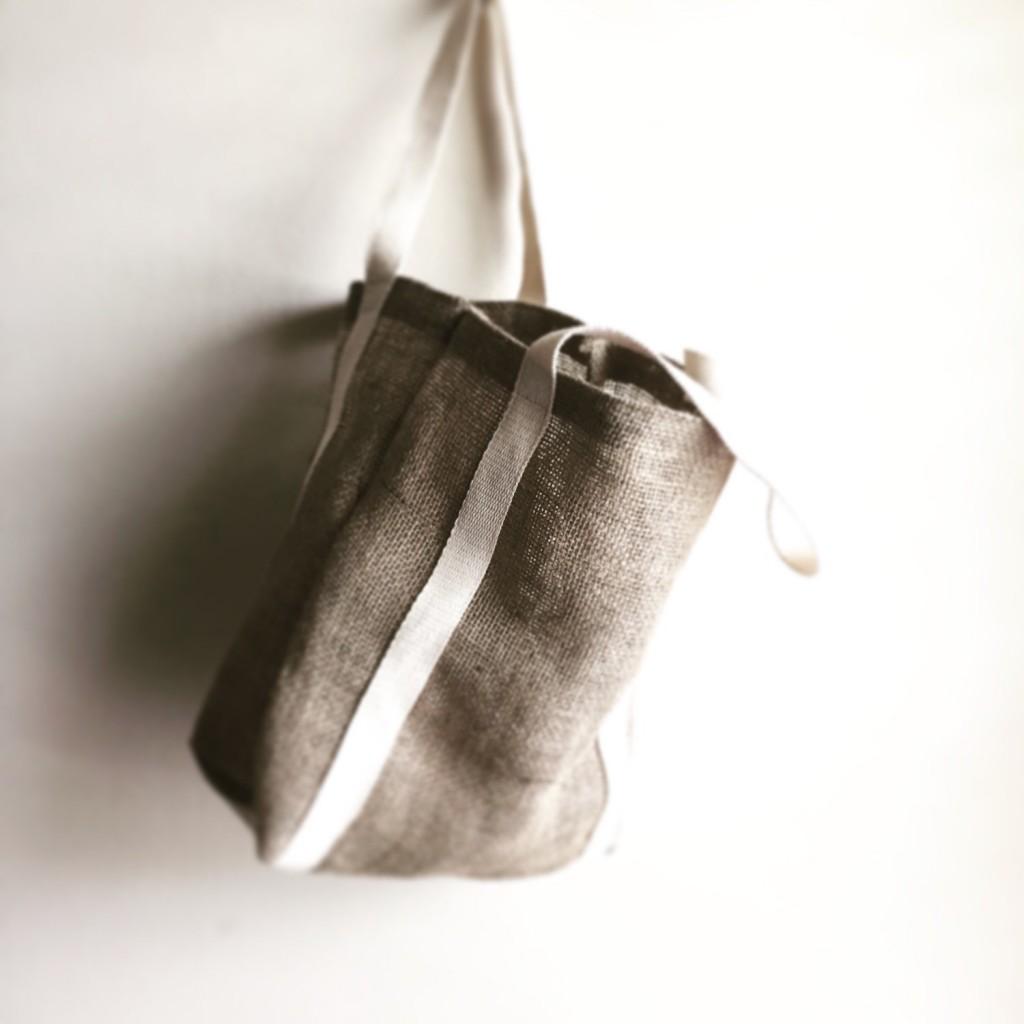 5 Burlap Jute Bag