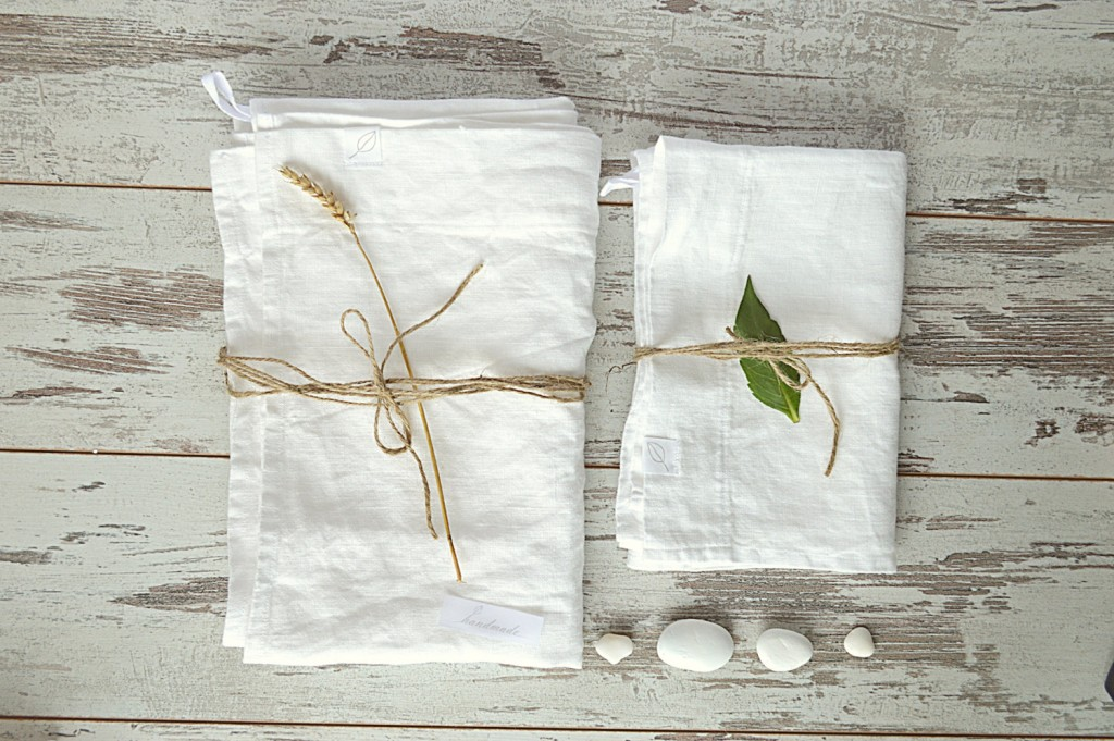 1 Linen bath towels