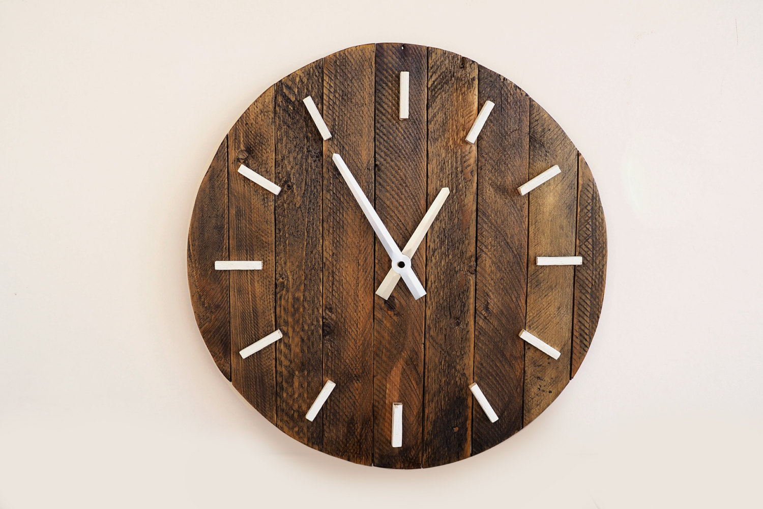 Handmade wall clocks on etsy hunting handmade - Mondaine wall clock cm ...
