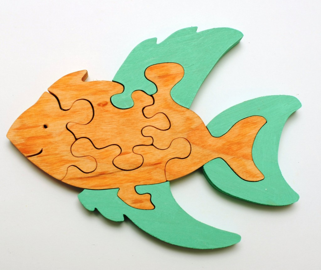 3 Wooden Fish