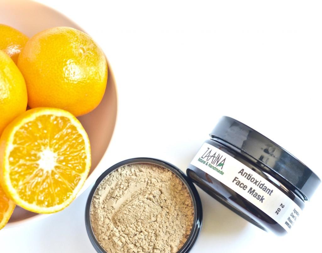 4 Antioxidant Face Mask