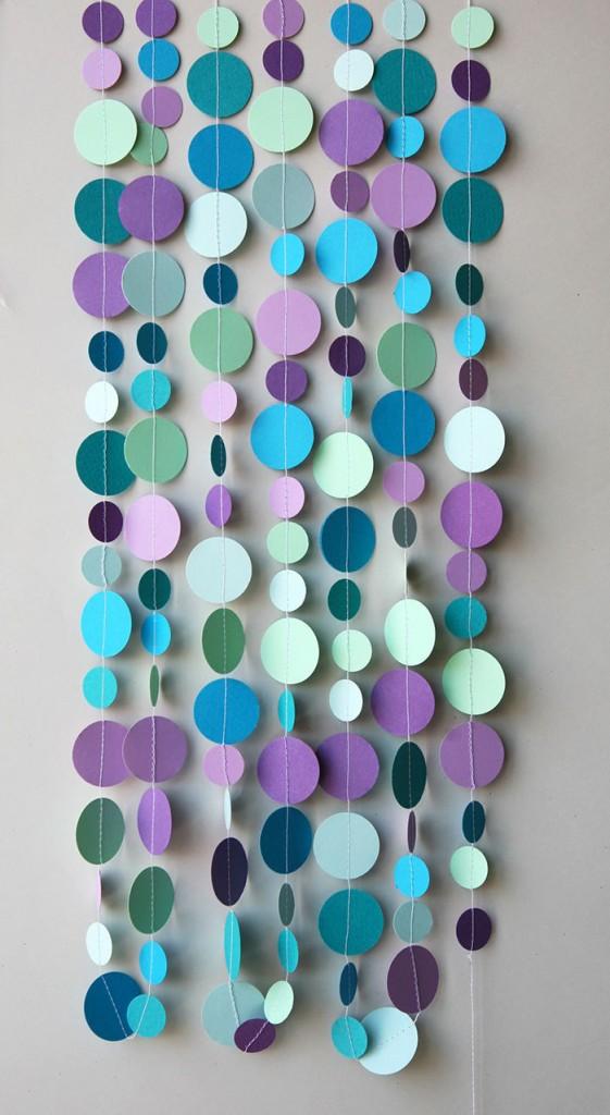 4 Bubbles party decoration