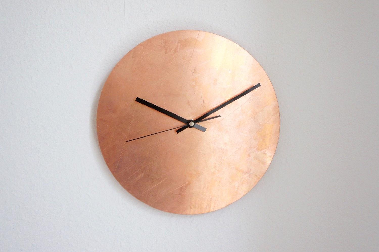handmade wall clocks on etsy hunting handmade. Black Bedroom Furniture Sets. Home Design Ideas