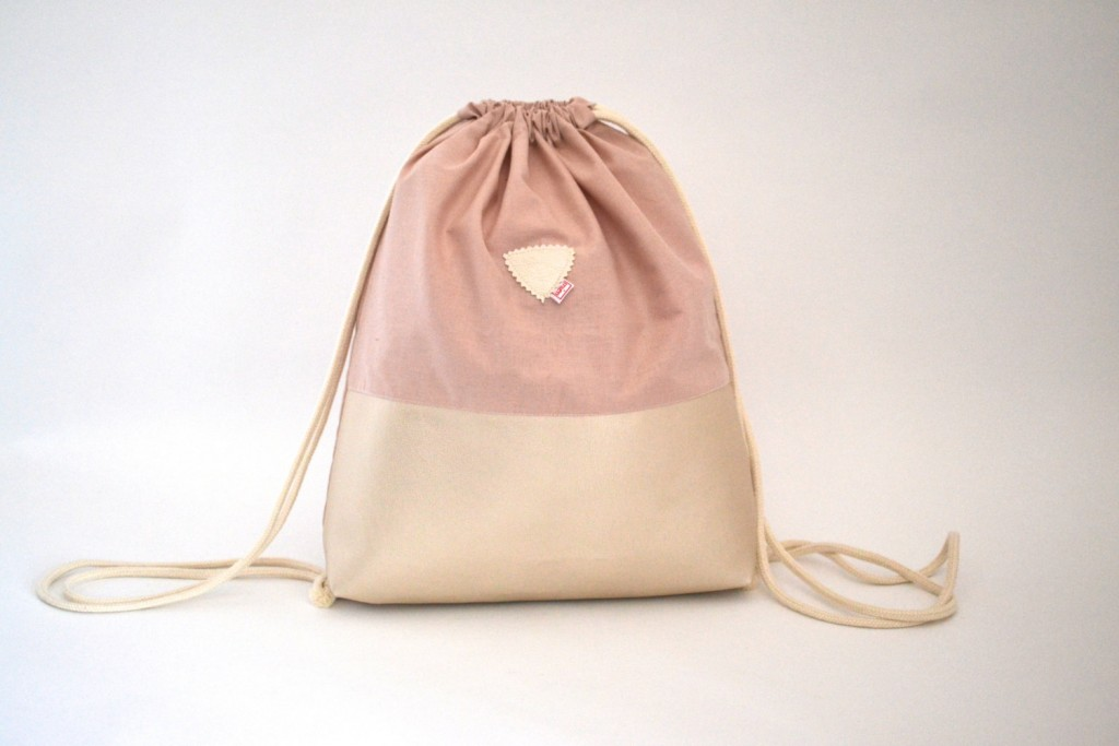 1 Gym bags Rose Quartz and mother-of-Pearl