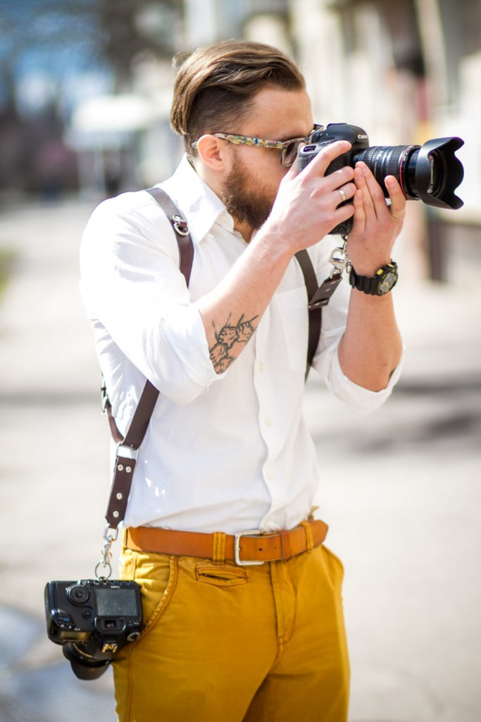 2 Double Shoulder Camera Strap