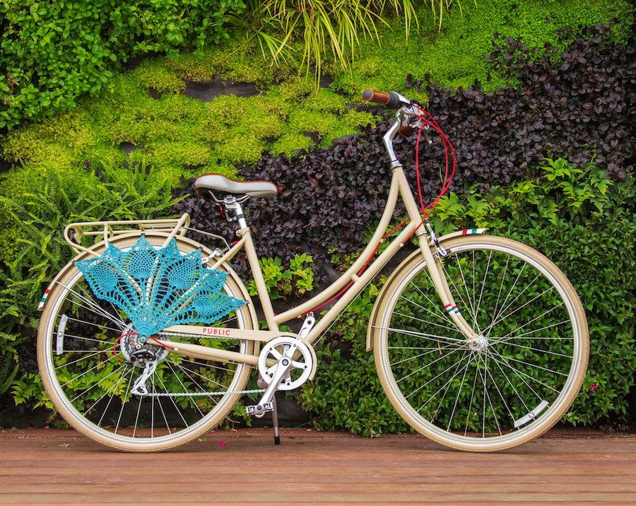 3 Crochet Bicycle Skirt Guard