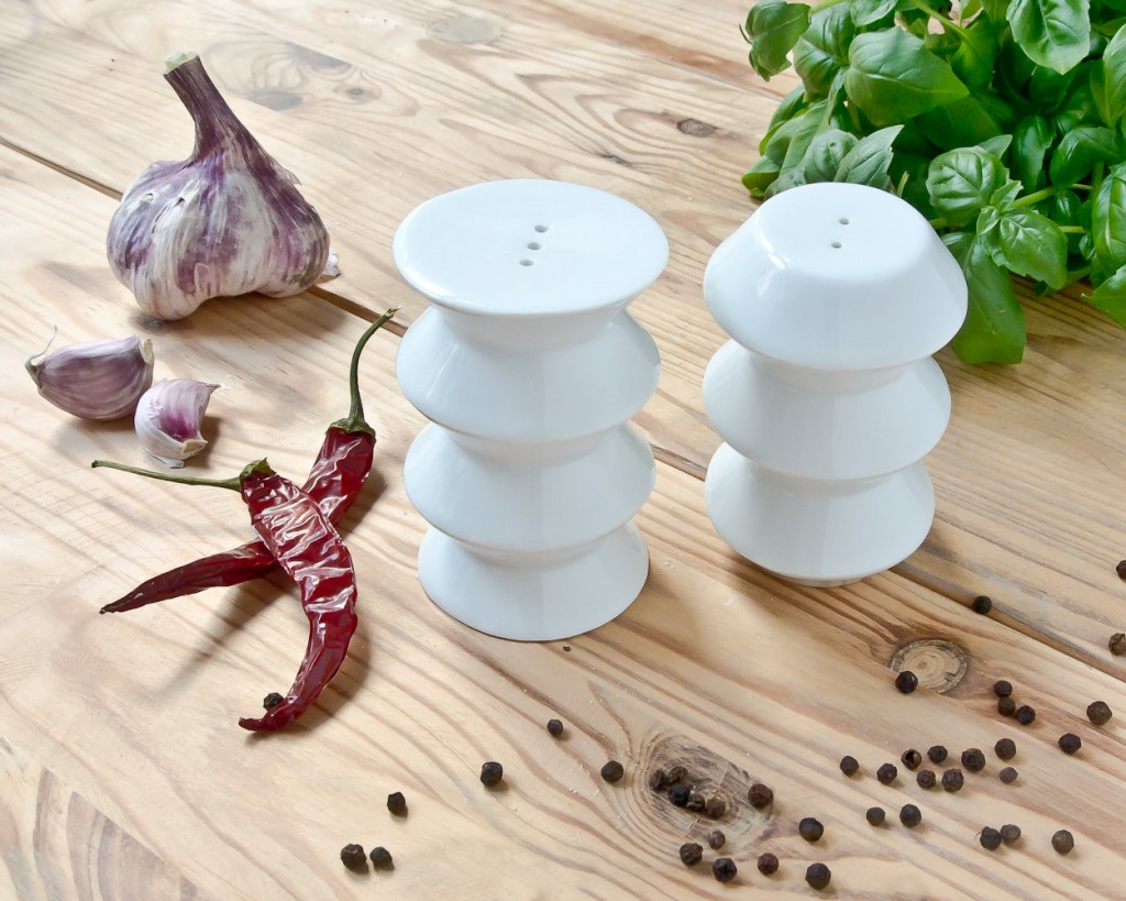 5 Salt and Pepper Shakers