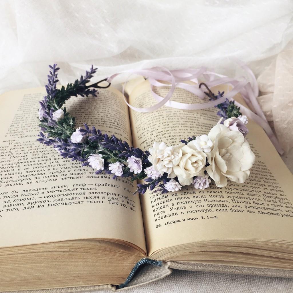 3 Lavender crown