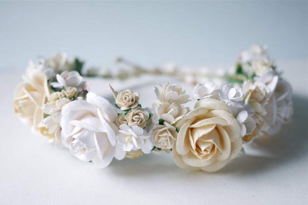 4 Paper Flower Crown