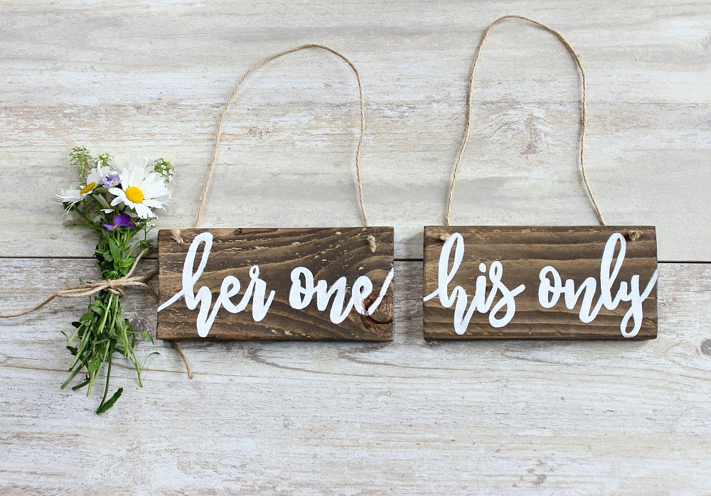 3 Rustic Wedding Decor
