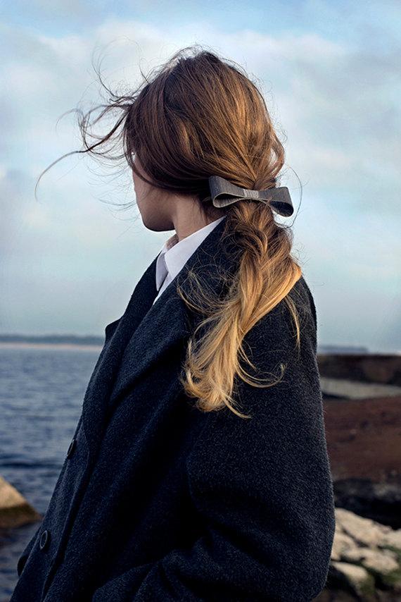 3 Wooden Hair Clip
