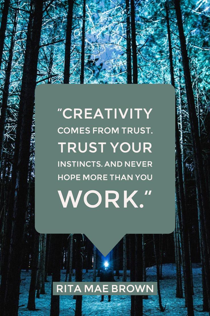 Creativity Quotes Hunting Handmade