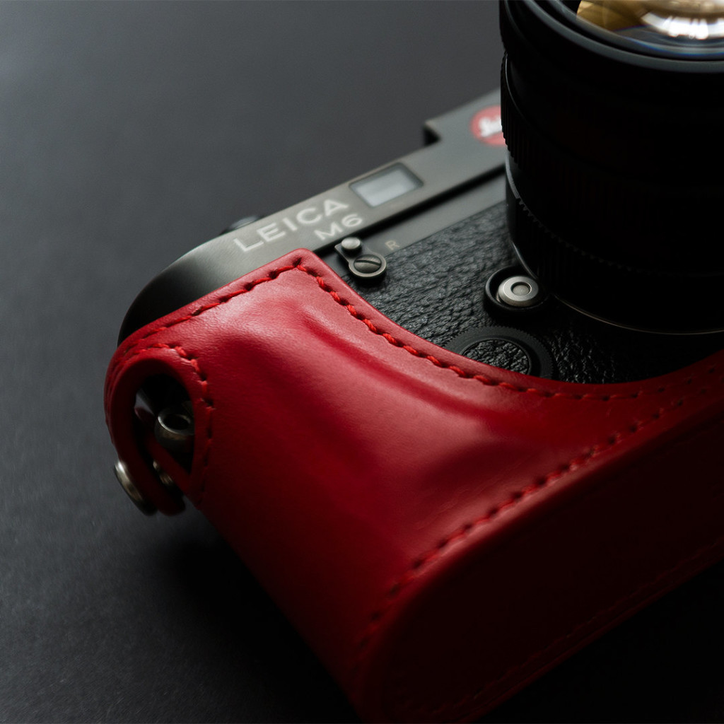 5 Handmade Leica M Leather Half Case